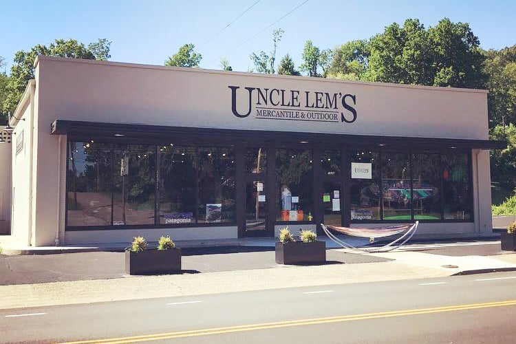 Uncle Lem's Outfitters on Sevier Avenue, Knoxville