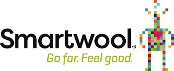 Smartwool logo. Go far. Feel Good.