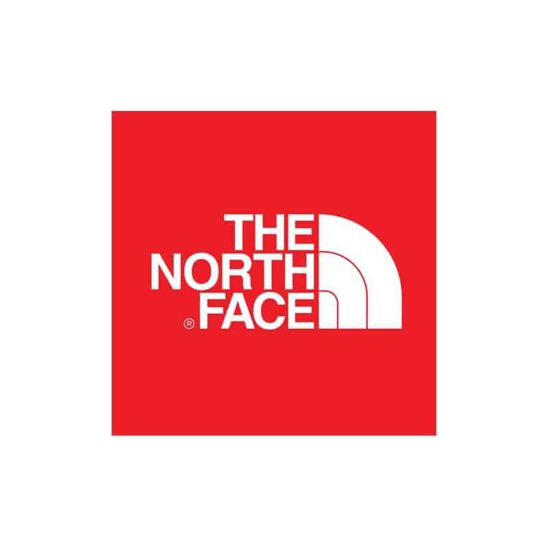 The North Face red logo