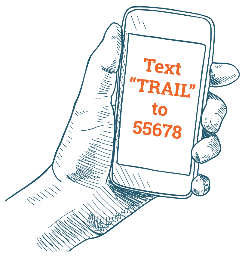 Text Trail to 55678